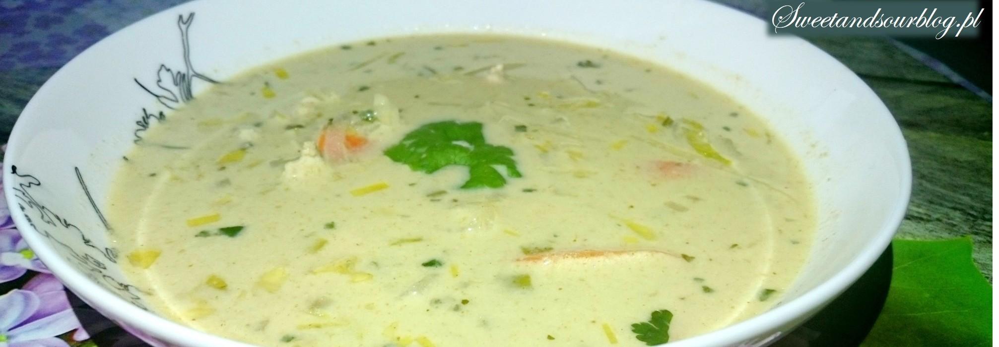 Smaki Azji w zupie zielone curry!